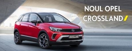 Noul Opel Crossland, disponibil prin EXPOCAR